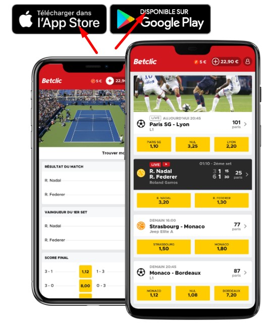 Betclic app download